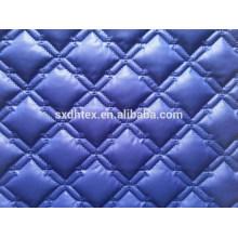 2015 hiver thermique tissu brodé tissu pour le quilting, matelassé tissu pour vers le bas de veste/manteau/vêtement tissu