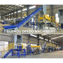 PP PE Pet Waste Plastic Recycling Machine