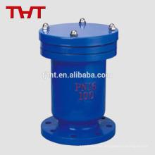 válvula automática de liberación de aire de una bola