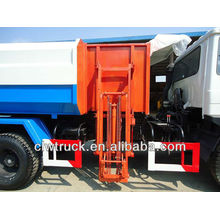 Dongfeng 4*2 garbage truck with trash load system