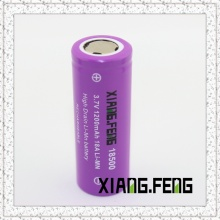 3.7V Xiangfeng 18500 1200mAh 18A Imr Rechargeable Lithium Battery 18500 Battery