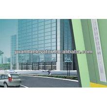 Yuanda edificio de oficinas ascensor de coches