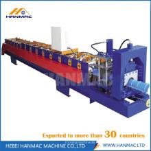 Máquina para fabricar techos metálicos de cresta