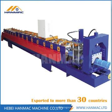 Máquina para fabricar telhados metálicos