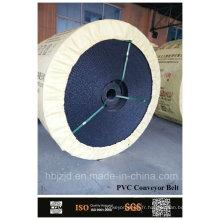 Monoplis brûlant bande transporteuse PVC résistant