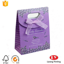 Boda personalizada utiliza bolsas de embalaje de regalo de papel