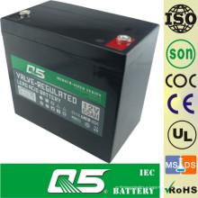 12V55AH Батарея с глубоким циклом Свинцовая кислотная батарея Глубокая разрядная батарея