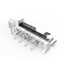 Smooth up-down feeding action fiber laser tube cutting machine with high quality cnc