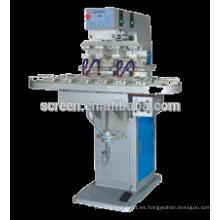 Máquina de impresión del cojín de 4 colores Tampo con Converyor