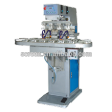 4 Color Tampo Pad Printing Machine With Converyor