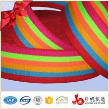 Ruban élastique de tricot tissé par élastique de fabricant