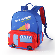 Promotional 3D Car Shape Mini Book Bag Kids Backpack Bag School