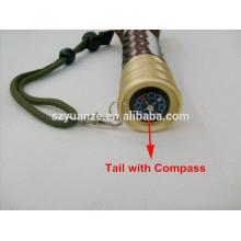 Lampe de poche tactique, lampe de poche rechargeable haute puissance, lampe de poche led chinoise