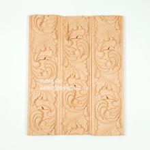 fleur sculpté meubles décoration cadres moulure en bois