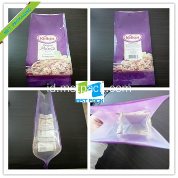 10 Warna Plastik Food Grade Side Gusset Pouch