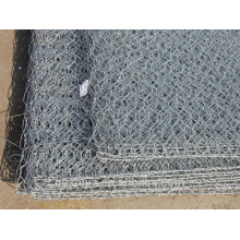 hot galvanized and pvc coated gabion Box