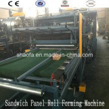 EPS- und Steinwolle-Sandwichplatten-Maschine für Afrika (AF-S980)
