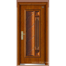 Puerta de acero inoxidable blindada puerta de China Proveedor (F6006)