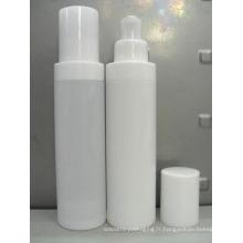 Qualité ronde blanche 50 ml airless pompe bouteille produit cosmétique emballage