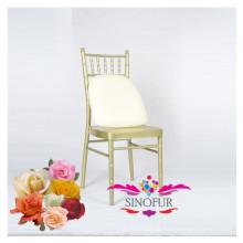 Mobiliário de banquete popular cadeiras e mesas de alumínio