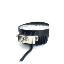 "O lument alto 27W do lument de 10V 30V 1755 4,3 ""quadrado redondo conduziu a luz offroad brilhante super do trabalho de Epistar do workforce"