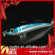 2015 NOEBY ABS plastic hard fishing baits sinking stick lure