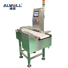 Automatic check weigher /check scale /belt checkweigher with pusher rejector for food industry
