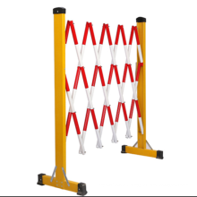 Safety barrier telescopic fence