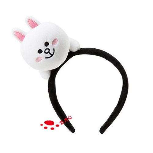 lovely white rabbit hairband