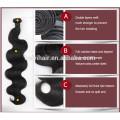 Cuticle enchevêtrement gratuit aucun rejet 9A 10A dropshipping cheveux brésiliens vierges non transformés