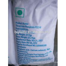 TCP, fosfato tricálcico, leche en polvo anti-aglomerante