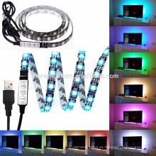 365nm uv led strip 3528 LED tira 5M 300led 12 voltios no impermeable luz led