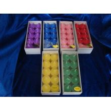 lilin votive warna Warna lilin rumah