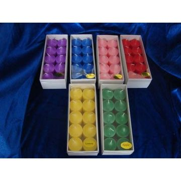 10 Years for Tealight Candles color votive candle Color home candles export to India Wholesale
