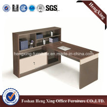 Competitive Price Office Furniture, Stylish Office Desk, Melamine Executive (HX-6M186)