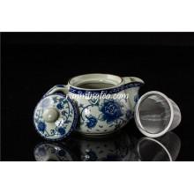 250ml Topf Rose Keramik Teekanne mit rostfreiem Einsatz