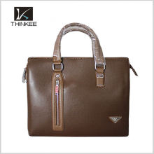 China large capacity men handbag genuine leather handbags man