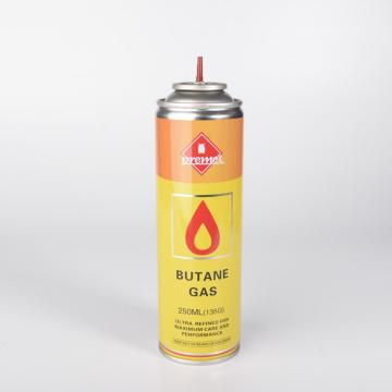 Ricarica gas butano 250ml