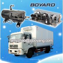 unidad de refrigeración de refrigeración para furgoneta de carga con compresor de refrigeración horizontal hvac