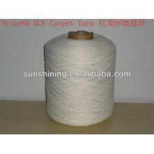 Hilado de alfombra de nylon 66 BCF 1330Dtex / 84F / 2
