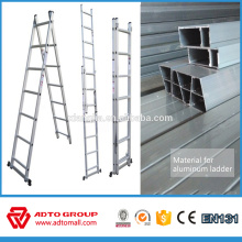 extendable ladder, 2-section extension ladder, sliding ladder