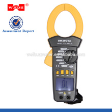 Pinza amperimétrica digital BM2000A con zumbador de continuidad Luz de retención de datos Corriente de CA actual grande 2000A