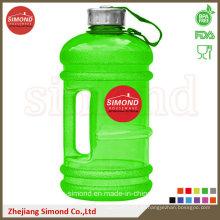2.2L botella de agua plástica de alta calidad de Tritan con la manija