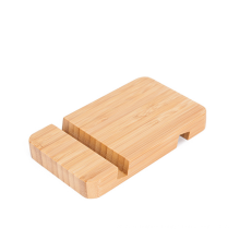 Hot Sale Bamboo Holder  Phone  Stand Tablet Desktop Bamboo Wooden Stand For Mobile Cell  Phone