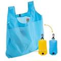 Promotional Folding Shopping Bag, Polyester Foldable Tote Bag (HBFB-63)