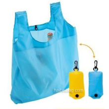 Sac de shopping pliable promotionnel, sac fourre-tout pliable (HBFB-29)