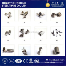 M1 stainless steel machine screws
