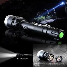 Super Bright X8CREE T6 800m 1200lm LED Lampe de poche / Torche