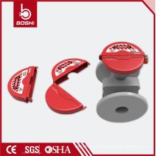 Verrouillage de verrouillage de la vanne de porte de 6,5 po à 10 po BD-F14A, verrouillage des plastiques techniques de Dupont, étiquetage de verrouillage brady de la Chine