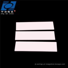 al2o3 alta temperatura placa de substrato de cerâmica de alumina